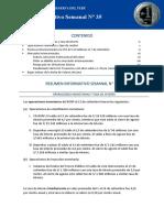 Resumen Informativo 35 2016