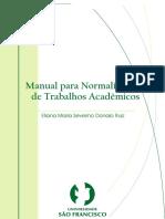 Manual para Normalização de trabalhos academicos