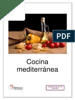 Cocina mediterránea historia