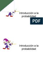 Probabilidad y Distribuciones de Probabilidad
