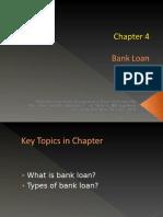 Chapter 4 Banking - Bank Loan