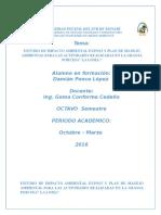ESTUDIO DE IMPACTO AMBIENTAL EXPOST Y PLAN DE MANEJO AMBIENTAL PARA LAS ACTIVIDADES REALIZADAS EN LA GRANJA PORCINA.docx