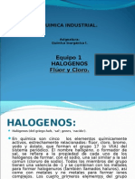 halogenos cloro fluor