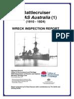 HMASAustralia.WreckReport.pt1