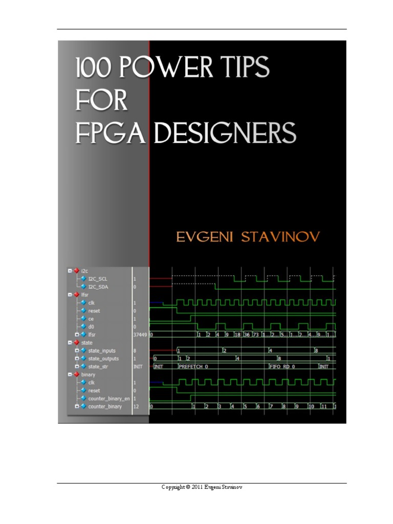 100 Power Tips for FPGA Designers 초록.pdf | Field Programmable Gate Array |  Hardware Description Language