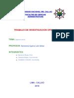 Trabajo de Inv. Op. Algebra Lineal