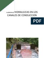 16ava Obras Hidraulicas en Canales de Conducción