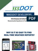 Dempsey - MassDOT Developers Presentation