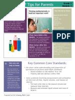 eureka math grade 3 module 2 parent tip sheet