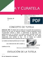 Derecho Familiar- Tutela & Curatela