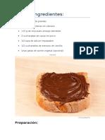 Nutella Ingredientes.docx