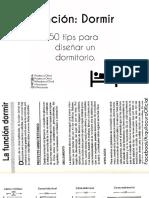 01.- 50 Tips Para Diseñar Un Dormitorio