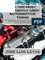 The 1333 Most Frequently Used AUTOMOTIVE Terms