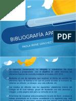 Bibliografía APA 2016