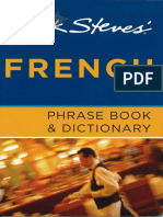Rick Steves French Phrase Book