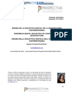 Rizoma en la dialéctica digital de la arquitectura