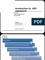 Introduction to Dot Net Framework