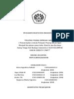 Proposal PKM-K Pisang Paling Baru