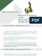 Presentación de Proyectos de  Taladros Largos VF.pptx
