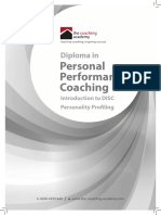 Personal Performance Coaching