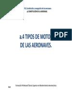 TIPOS DE MOTOR DE LAS AERONAVES (ADA)