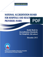 Guide Book to Accreditation Standards for Hospitals 4th edition