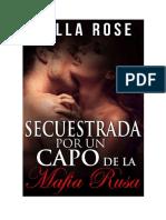 Bella Rose & Leona Lee - Serie Mafia Volkov - 02 Secuestrada por un capo de la Mafia Rusa