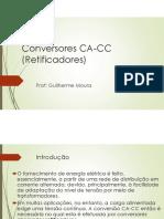 Aula Conversores CA CC (Retificadores)