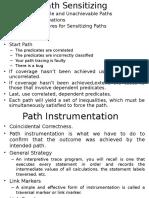 Path Sensitizing