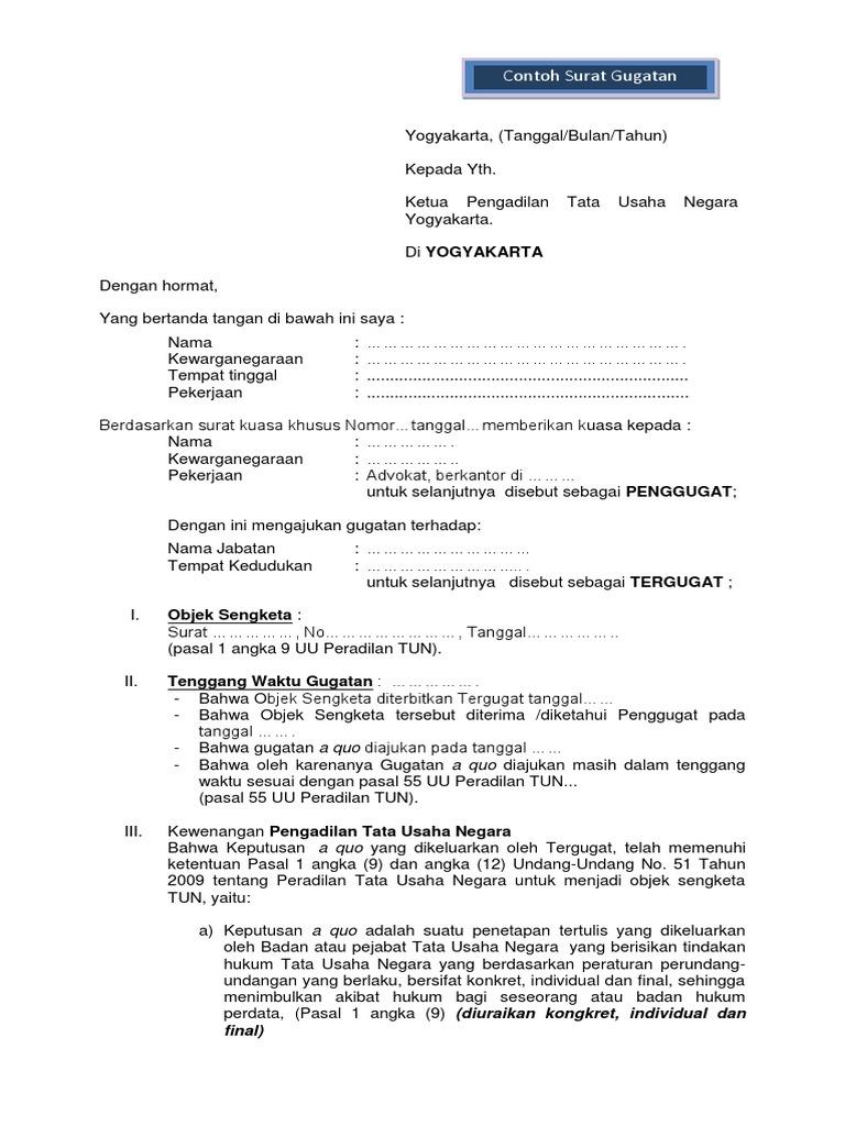 Pdf Surat Kuasa Umum Perdata Xilusrhino