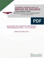 Vinculación Del Garante en Procesos de Responsabilidad Fiscal