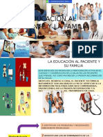 Educación Al Paciente y La Familia