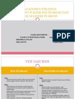 Manajemen Strategi Bank Bni Dan Mandiri Syariah Ppt
