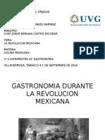 Gastronomia en la Revolucion Mexicana