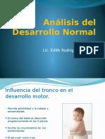 Análisis  Desarrollo del bebe