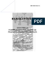 Guia Ruralinvest