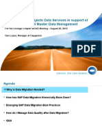 Data Migration about one of best practises