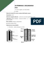 Baterias Primarias y Secundarias