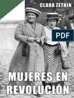 mujeres en revolucion Clara Zetkin Coleccic3b3n