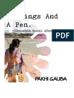 Feelings And A Pen
