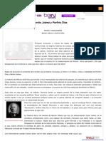 MITOS Y REALIDADES Benito Juarez y Porfirio Diaz