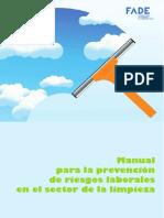 Manual Para La Prevencic3b3n de Riesgos Laborales en El Sector de La Limpieza