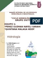 Ingenieria Ambiental Ciclo Del Agua