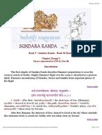 Valmiki Ramayana - Sundara Kanda - Sarga 1