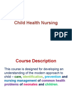 Introduction Child Health Nursing