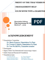 Scale Development - Diabetes Scale