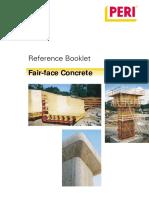 Fair Face Rcc Work Guide Book
