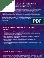 Citation Styles