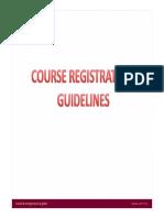4.0 Course Registration 30-01-2014