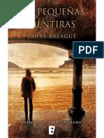 Las Pequeñas Mentiras - Laura Balagué